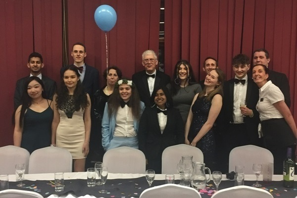 Students and staff at the South College Scholars Dinner