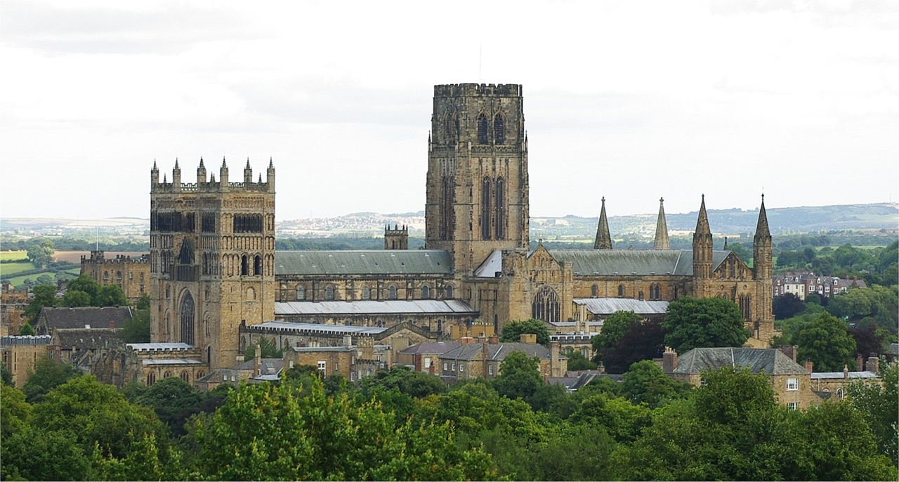 Durham Cathedral from a distance